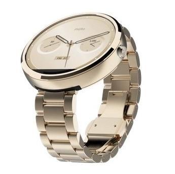 Умные часы Motorola Moto 360 Steel (Цвет: Gold)