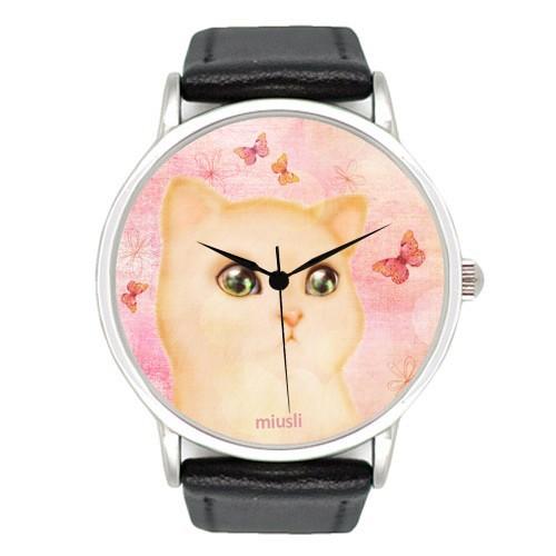 Наручные часы Miusli Cat and Butterfly