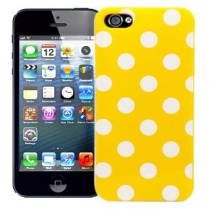 Чехол для iPhone 5 Peas (желтый)