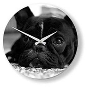 Часы настенные мопс