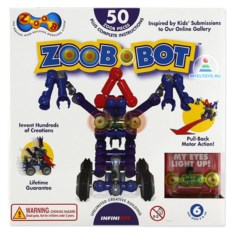 Конструктор Zoob Bot из 50 элементов