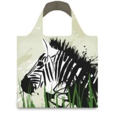 Складная сумка LOQI ANIMA  Zebra & Giraffe