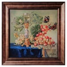 Картина Натюрморт с бабочками