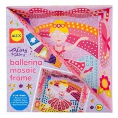 Мозаика в рамке Балерина