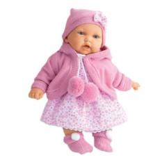 Озвученная кукла Азалия в ярко-розовом