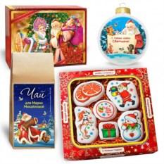 Большой набор с волшебным печеньем «Новогодние сюжеты»