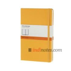 Желтая записная книжка в линейку Classic