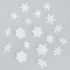 Пуговицы декоративные Dress It Up Первый снег, 16 шт