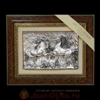Панно Пара лошадей