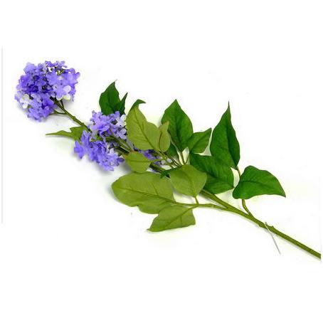 Цветок искусственный «Синяя сирень»