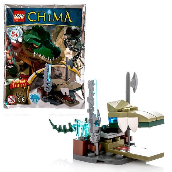 Конструктор Трон Крокодилов Lego Legends Of Chima