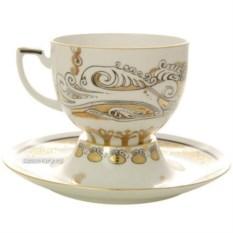 Чашка с блюдцем Русский модерн (фарфор)