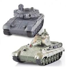 Радиоуправляемый танковый бой T90 и Tiger King