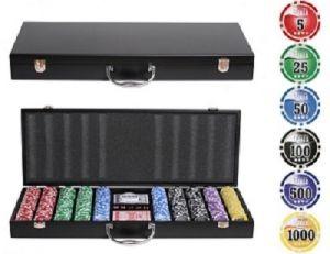 Набор для покера в деревянном чемодане Nuts Wood 500