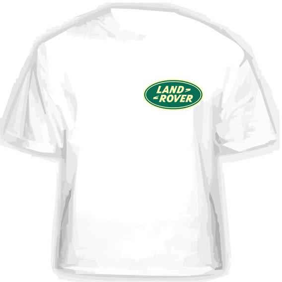 Прикольная футболка LAND-ROVER