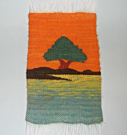 Сувенир из Египта Оазис. Закат