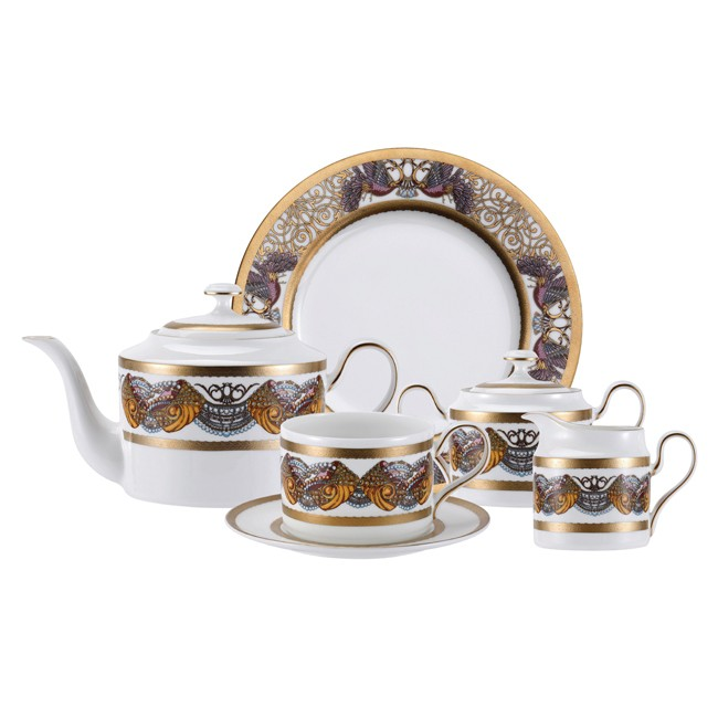 Чайный сервиз из 23 предметов на 6 персон Amour Bird