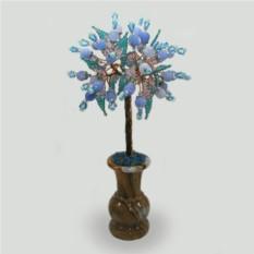 Дерево из агата Подарок от сердца