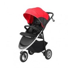 Детская коляска Aprica Smooove (цвет: красный/черный)