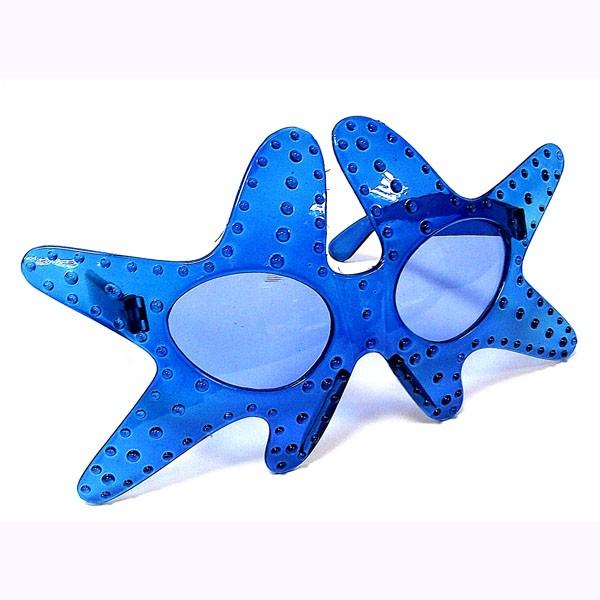 Очки Оригинальные синие морские звезды