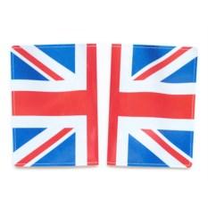 Обложка для паспорта Брит флаг