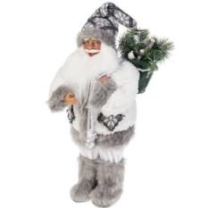 Новогоднее украшение Дед Мороз в колпаке и с елочкой