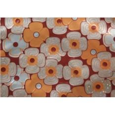 Упаковочная бумага с цветами