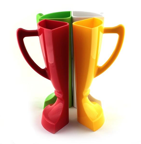 Кубок 4 бокала, разноцветный