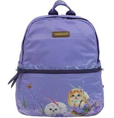 Рюкзак «Лаванда» с кошкой Оливией