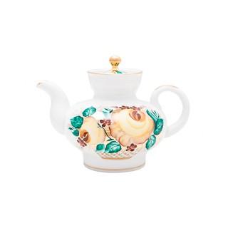 Фарфоровый чайник заварочный
