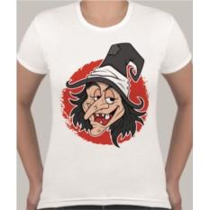 Женская футболка Ведьма в шляпе
