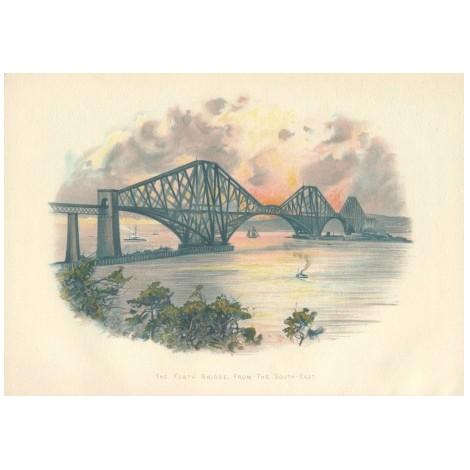 Мост через Форт. Шотландия
