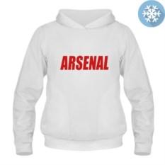 Теплая толстовка-кенгуру Arsenal