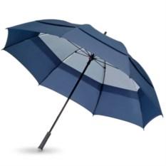 Синий механический зонт-трость Cardiff