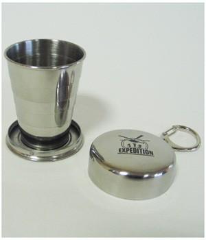 Малый складной стаканчик из нержавеющей стали (60 мл)