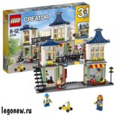 Конструктор Lego Магазин по продаже игрушек и продуктов