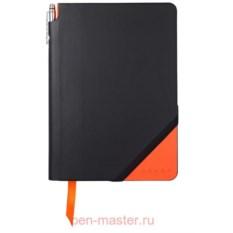 Записная книжка Cross Jot Zone (цвет: черный, оранжевый)