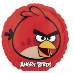 Фольгированный шар-круг Angry Birds