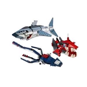 Конструктор lego-make&create: Хищники моря