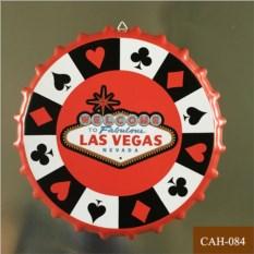 Декоративная пивная крышка Las Vegas