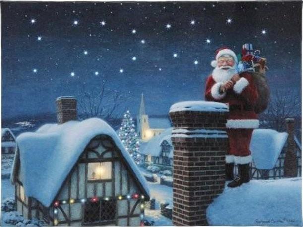 Новогоднее панно с подсветкой Mr. Christmas