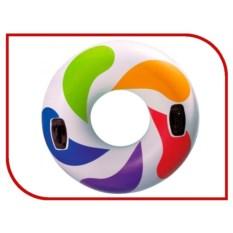 Надувной круг Intex Цветной Водоворот