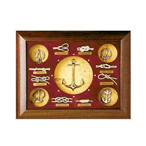 Декоративное панно «Морские узлы, якорь»