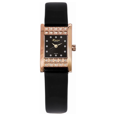 Женские золотые часы Ника «Гортензия»