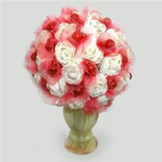 Цветы из коралла Свадьба
