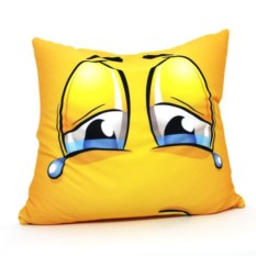 Подушка-антистресс Смайл: слезы