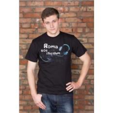 Мужская футболка с вашим текстом Got rhythm
