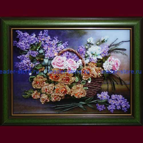 Картина Swarovski Натюрморт Цветы