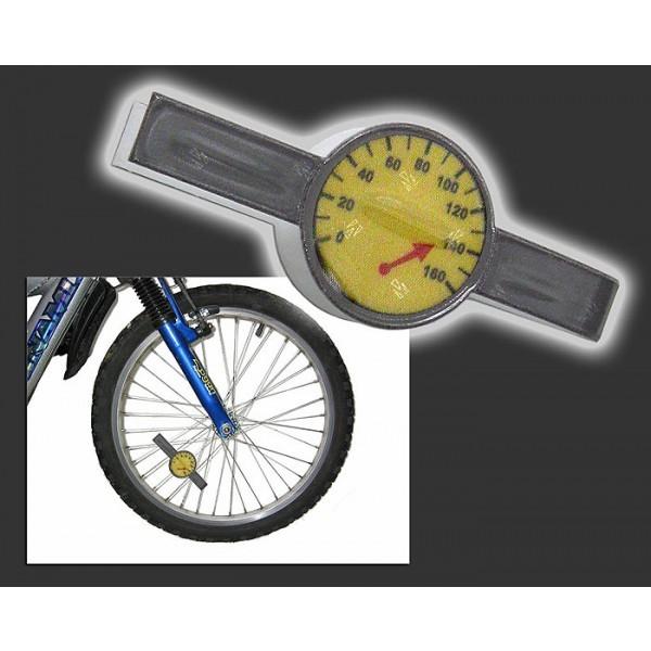 Светоотражающая наклейка для велосипеда Спидометр