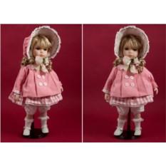 Коллекционная кукла Гимназистка